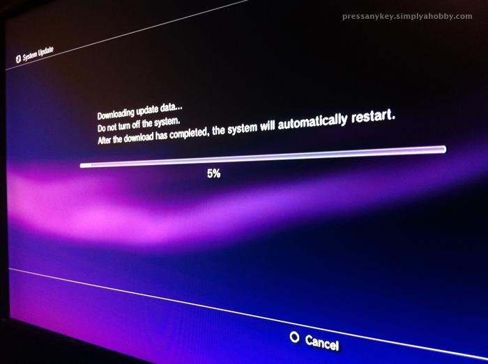 ps3 update data download