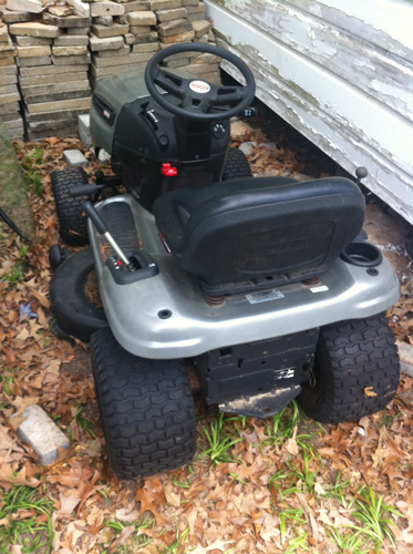 Craftsman Lawn Mower Belts : Craftsman lawn tractor won t move forward