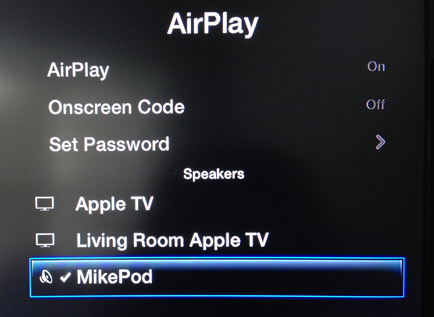 Airplay-Mikepod