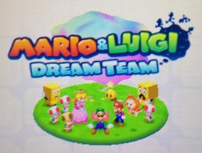 Mario Luigi Dream Team Nintendo 3ds Press Any Key