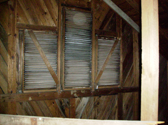 how to build wood gable vents