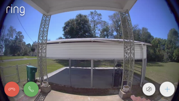 Ring Doorbell Daytime